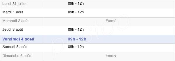 horaires d'ouverture de la Mairie De Saint-Sulpice-Des-Landes