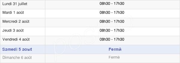 horaires d'ouverture de la Mairie De Toulouse