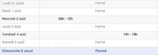 horaires d'ouverture de la Mairie De Saint-Vallerin