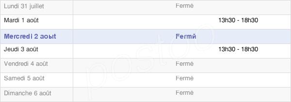 horaires d'ouverture de la Mairie De La Frette