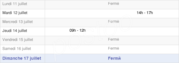 horaires d'ouverture de la Mairie D'Ameugny