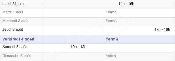 horaires d'ouverture de la Mairie De Lignéville