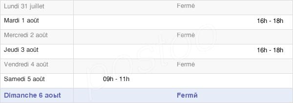 horaires d'ouverture de la Mairie De Laveline-Devant-Bruyères