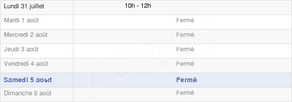horaires d'ouverture de la Mairie D'Aingeville