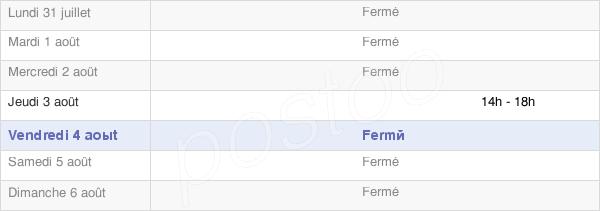 horaires d'ouverture de la Mairie De Lemmecourt