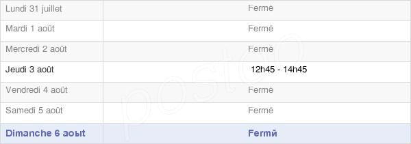 horaires d'ouverture de la Mairie De Remicourt