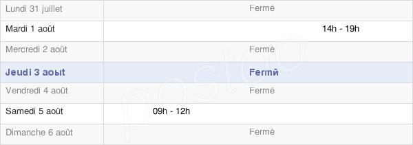 horaires d'ouverture de la Mairie De Vomécourt