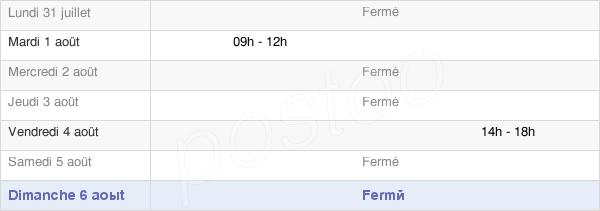 horaires d'ouverture de la Mairie D'Ambacourt
