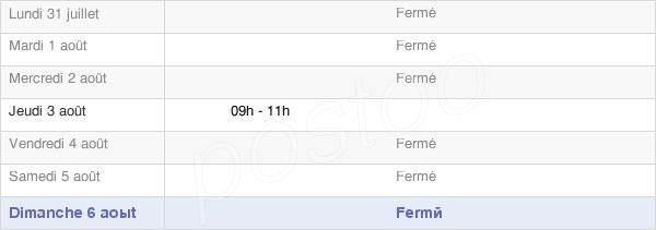horaires d'ouverture de la Mairie De Pleuvezain