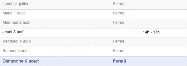 horaires d'ouverture de la Mairie De Chevigney-Lès-Vercel