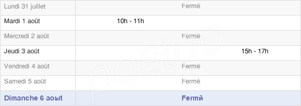 horaires d'ouverture de la Mairie De Crosey-Le-Grand