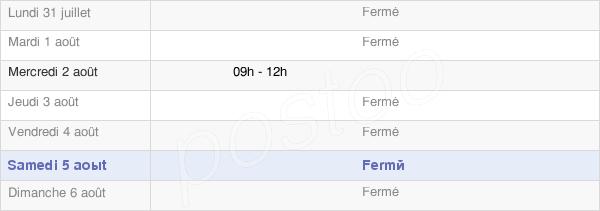 horaires d'ouverture de la Mairie De Saint-Georges-Armont