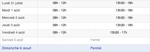 horaires d'ouverture de la Mairie De Corneilla-Del-Vercol