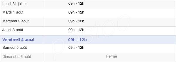 horaires d'ouverture de la Mairie Du Mesnil-En-Vallée