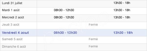 horaires d'ouverture de la Mairie De Champtocé-Sur-Loire
