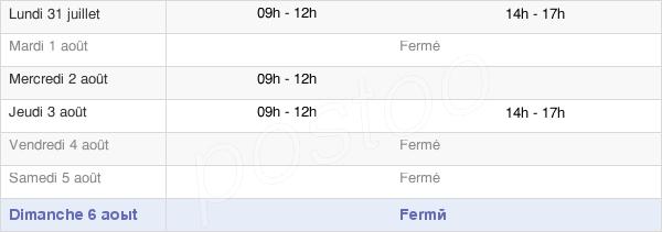 horaires d'ouverture de la Mairie De Cléré-Sur-Layon