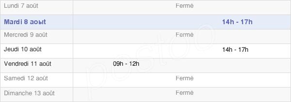 horaires d'ouverture de la Mairie De Saint-Léonard-Des-Bois