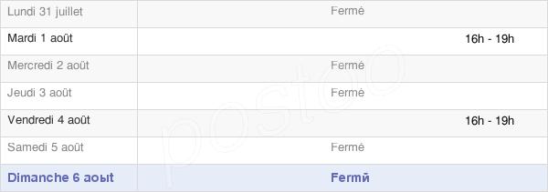 horaires d'ouverture de la Mairie De Vielle-Adour