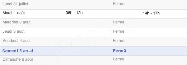 horaires d'ouverture de la Mairie D'Asque