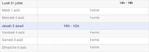 horaires d'ouverture de la Mairie D'Aries-Espenan