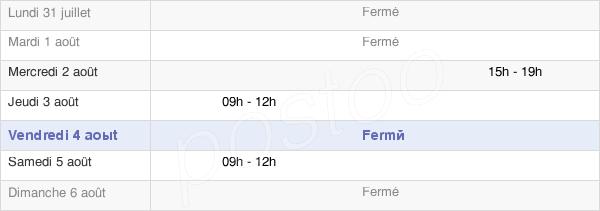 horaires d'ouverture de la Mairie De Lamarque-Pontacq