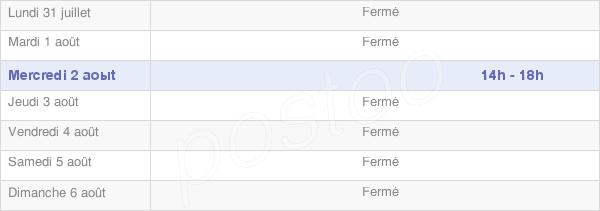 horaires d'ouverture de la Mairie De Fleurey-Lès-Saint-Loup