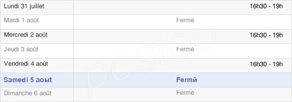 horaires d'ouverture de la Mairie De Rieux En Val