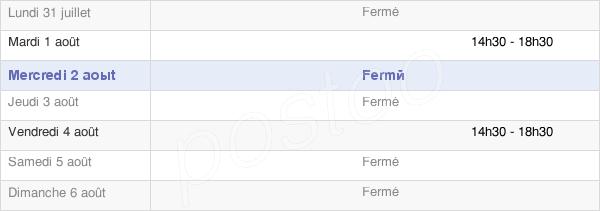 horaires d'ouverture de la Mairie De Fournes Cabardès
