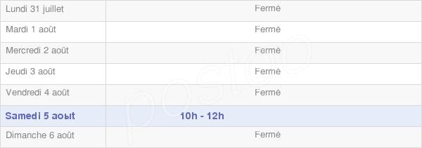 horaires d'ouverture de la Mairie De Floure