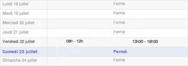 horaires d'ouverture de la Mairie D'Alleins