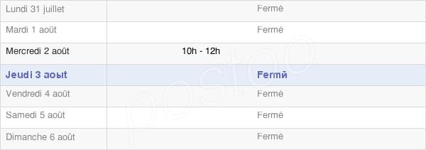 horaires d'ouverture de la Mairie De Origny-Sur-Seine