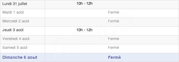 horaires d'ouverture de la Mairie De Saint-Seine-L'Abbaye