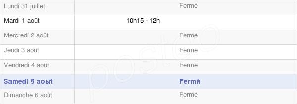 horaires d'ouverture de la Mairie De Frénois