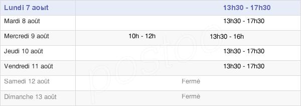 horaires d'ouverture de la Mairie De Savigny-Lès-Beaune