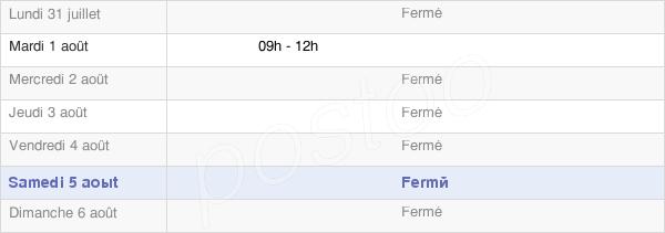 horaires d'ouverture de la Mairie De Savigny-Sous-Mâlain