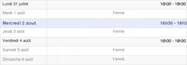 horaires d'ouverture de la Mairie De Ménétreux-Le-Pitois
