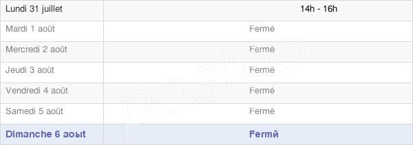 horaires d'ouverture de la Mairie De Licey-Sur-Vingeanne