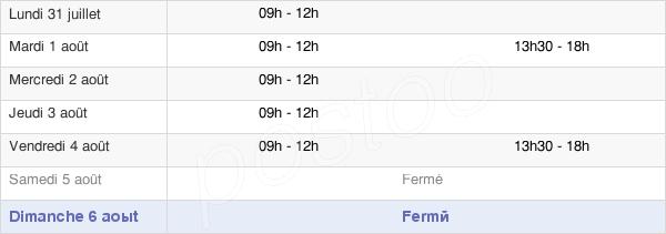 horaires d'ouverture de la Mairie De Landujan