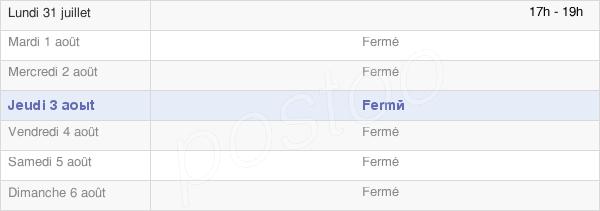 horaires d'ouverture de la Mairie De Saint-Loup-De-Gonois