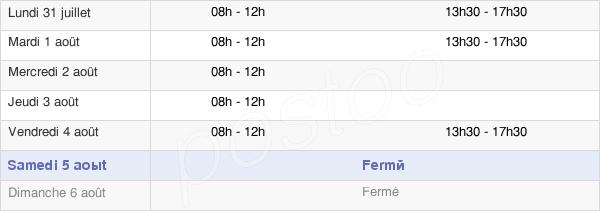 horaires d'ouverture de la Mairie De Félines-Minervois