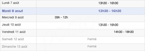 horaires d'ouverture de la Mairie D'Aumont
