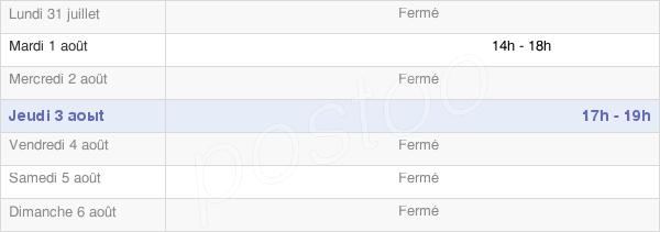 horaires d'ouverture de la Mairie Du Petit-Mercey