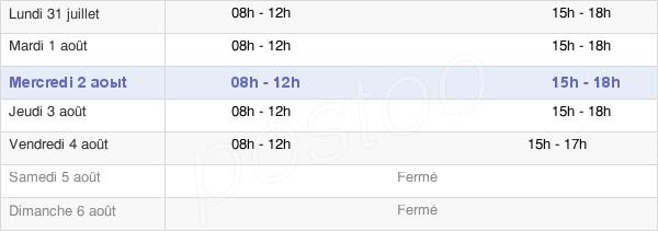 horaires d'ouverture de la Mairie De Prémanon