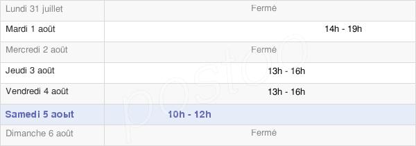 horaires d'ouverture de la Mairie De Pleure
