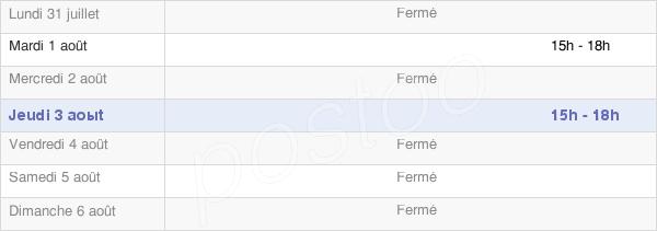 horaires d'ouverture de la Mairie De Romange