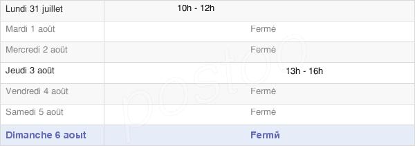horaires d'ouverture de la Mairie De Bromeilles
