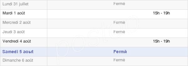 horaires d'ouverture de la Mairie De Fréville-Du-Gâtinais