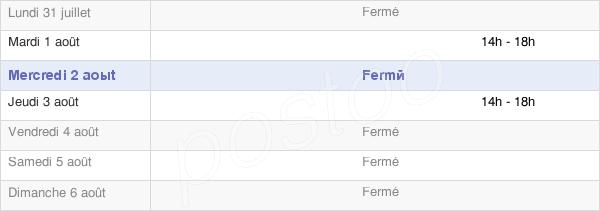 horaires d'ouverture de la Mairie De Chennevières-Lès-Louvres