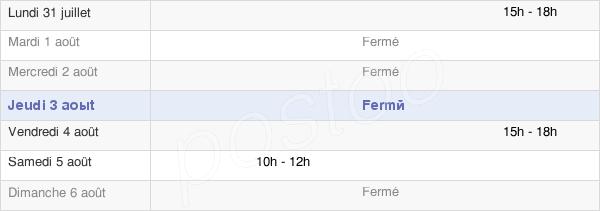 horaires d'ouverture de la Mairie D'Hérouville