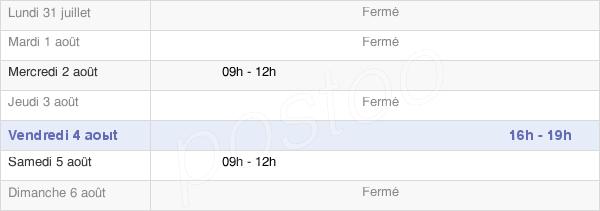 horaires d'ouverture de la Mairie De Ronquerolles